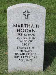 "Martha ""Marty"" McLaughlin Hogan (1935-2017) - Find A Grave Memorial"