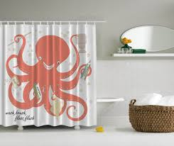 Nautical Decor Nautical Decor Octopus Holding Soap Shampoo Toothbrush Toothpaste