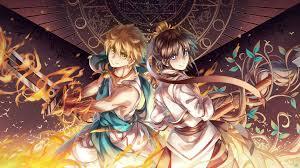 ilration anime anime boys ics mythology magi the labyrinth of magic ali baba saluja hakyruu ren