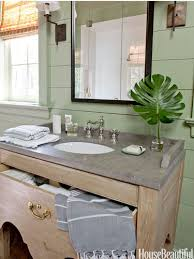 A Lake House Bathroom Green Colors Vanities And Lakes