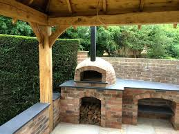 diy wood burning pizza oven plans outside ovens fired free