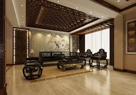 Arabic Living Room Furniture Arabic Style Living Decoration Ideas Artistic Brown Ceramic Tile Flooring And Dark Leather Sofa Also Black Wooden Room Furniture