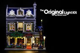 Parisian Restaurant Lighting Kit Details About Led Lighting Kit For Lego 10243 Parisian Restaurant