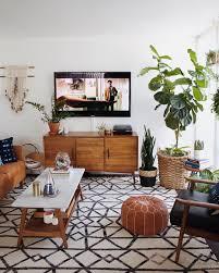 Mid Century Modern Living Room Design Living Room Midcentury Modern Living Room With Oval Table On