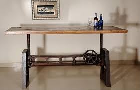 S Stylish Adjustable Height Kitchen Table Bringing In Your Choice Of