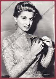 Miranda Martino 03 Singer Singer Music Actress Actress-Bushel UD. Postcard