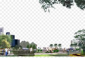 Urban Park Landscape Computer File City Park Landscape Png