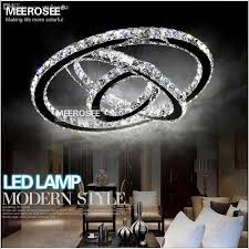 fabulous circle chandelier light whole modern crystal chandelier led diamond ring crystal
