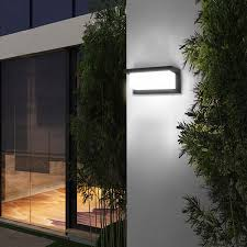 Garage Outdoor Wall Lights Glighone 10w Led Wall Light Outside Led Wall Sconce Ip65