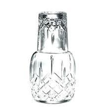 bedside carafe and glass bedside carafe set majestic gifts cut crystal bedside water carafe set glass