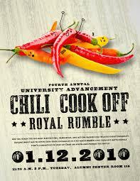 chili cook off background. Unique Off UA Chili Cookoff Poster Intended Cook Off Background O