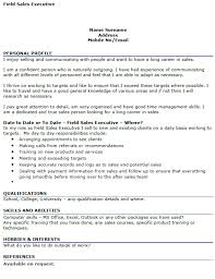 Sales Manager Cv Template Field Sales Manager Cv Example Icover Org Uk