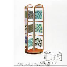 Hanging Stands Displays Classy Granite Display Stands Desktop Racks Waterfall Tile Display Stands