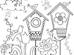 Coloring Page Spring Flowers Coloring Games Movie Coloring Page