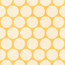 yellow and white polka dots duvet cover by herart society6