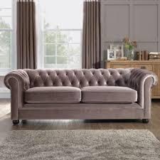 velvet chesterfield sofa. Beautiful Velvet Mink Velvet Chesterfield Sofa Throughout O