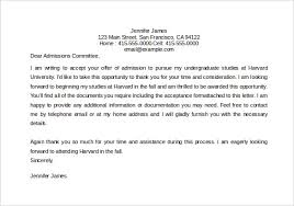Acceptance Letter Template 8 Free Word Pdf Documents Download