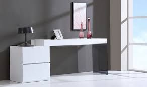 white gloss office desk. ju0026m mia modern office desk in white high gloss e