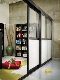 glass wall dividers office. sliding glass room dividers frosted the door co wall office