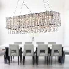 modern rectangular crystal chandelier island pendant ceiling light lightingmust