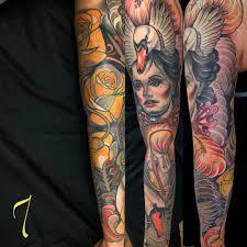 мексиканские татуировки адриана мачете Funtattooru