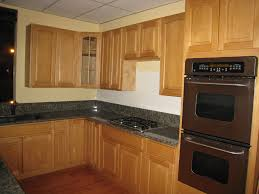 kitchen cabinets with granite countertops:  kitchen elegant picture of new at collection ideas oak kitchen cabinets with granite countertops lovely black