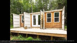 Diy Container Home Container House Diy Youtube