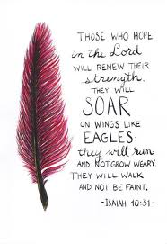 Scripture Quotes Fascinating Feather Painting Scripture Quote Isaiah 4848 By CraftyStx On Etsy