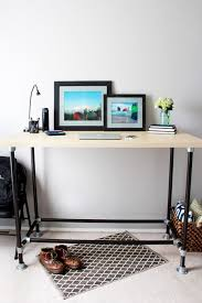 the easiest way to make an style standing desk just a girl and
