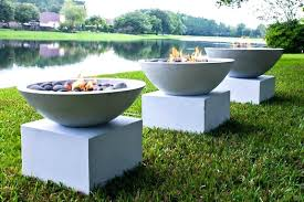 cement fire pit concrete fire pits with gray stones cement fire pit ideas cement fire pit