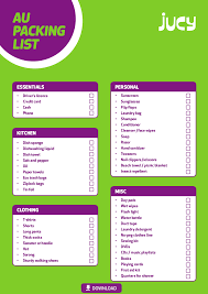 The Jucy Packing List To Help You Prepare For Your Trip- Jucy