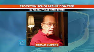 Family Creates the Gerald Clemens Endowed Scholarship at Stockton ...