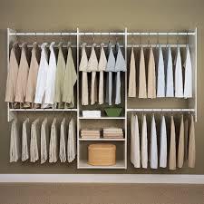 wardrobe racks inspiring wall mounted closet rod