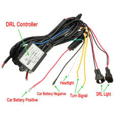 Lights Dimming In Car Car Led Drl Daytime Running Light Source Dimmer Dimming