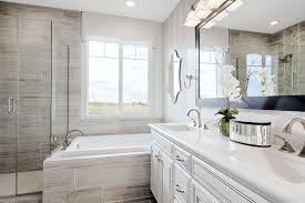 American Home Design Bathrooms A Shower Tub Combination Multiple Ways To Relax Bernard