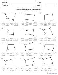Collections of Free Geometry Worksheets With Answers, - Wedding Ideas