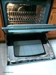 how to clean glass oven door between on surprising the