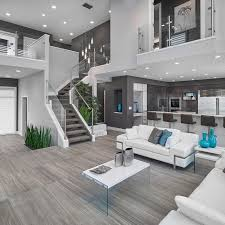 designer living rooms inspiration for a contemporary open concept living room remodel in edm