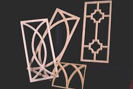 mullion inserts artistic wood design for kitchen cabinets quality architectural woodcarvings art for everyday inc afe quality architectural