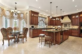 southern utah kitchen traditional with round dining table los angeles heating and cooling companies