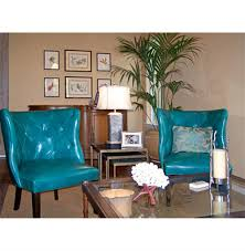 Leather Accent Chair With Ottoman Furniture Round Swivel Accent Chair Teal Accent Chair