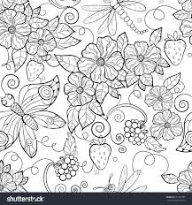 big coloring pages of flowers and erflies new stunning erfly