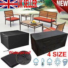 details about 4 size heavy duty waterproof outdoor garden patio furniture cover table shelter