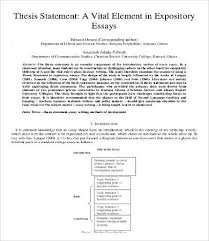 expository essay word pdf documents  expository essay thesis statement template