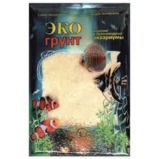 Купить грунт для аквариума <b>ЭКОгрунт Кварцевый песок</b> Белый 0,3