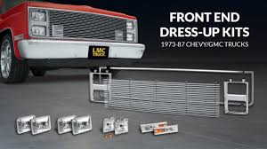 Front End Dress Up Kit For Chevy & GMC Trucks - TruckU with LMC ...