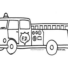 Small Picture Fire Truck Coloring Pages Cheap Fire Truck Coloring Sheet With
