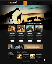 Website Templates Wild Life Responsive Website Template 24 18