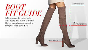 Macy S Size Chart Shoes Boot Fitting Guide Macys