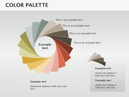Color Palette Keynote Charts Templates